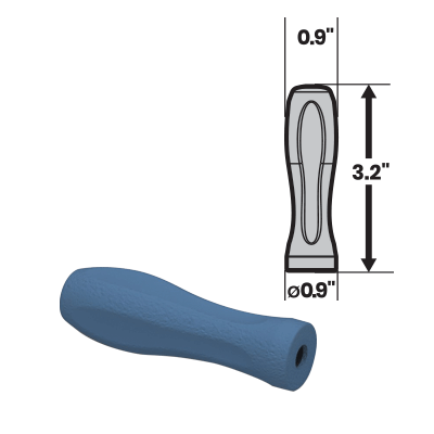 If your medical tools need a silicone handle, MedTorque can help such as with this 3HM4 Petite Axial Handle.