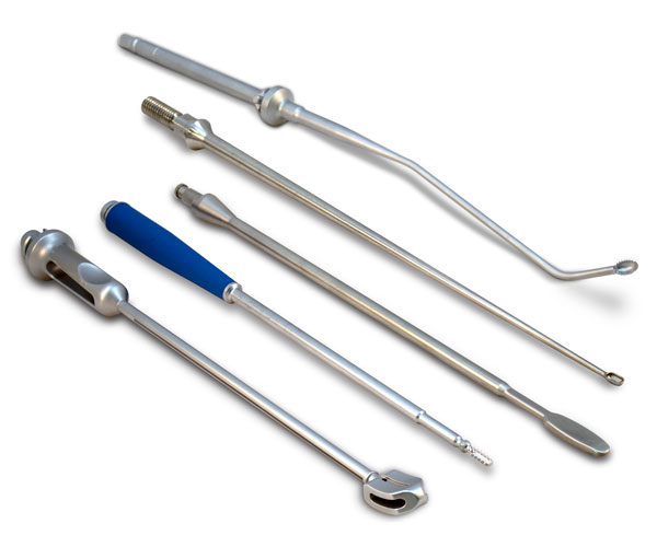MedTorque shafted instruments