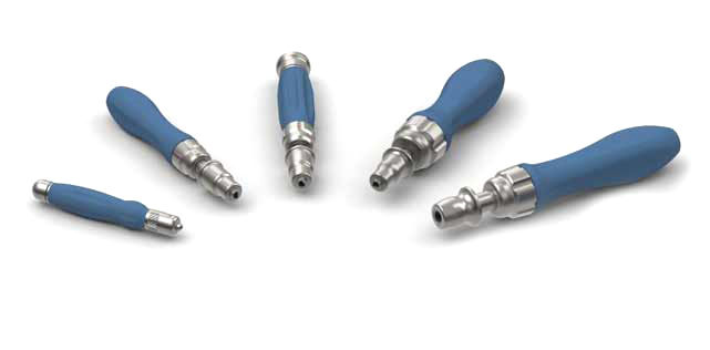 MedTorque Silicone Handles with Ratcheting Couplings
